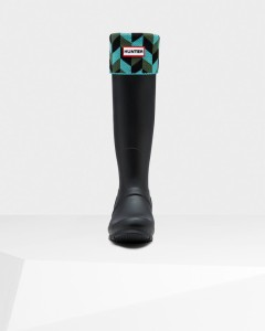 Hunter Wellies!  I've dying to get myself a pair, and matching socks are a must for fall weather in the Mid West.